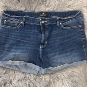 Gap Boyfriend Shorts Women's Plus Size